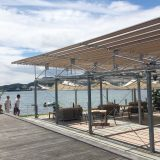 Shodoshima International Hotel, Beachside cafe