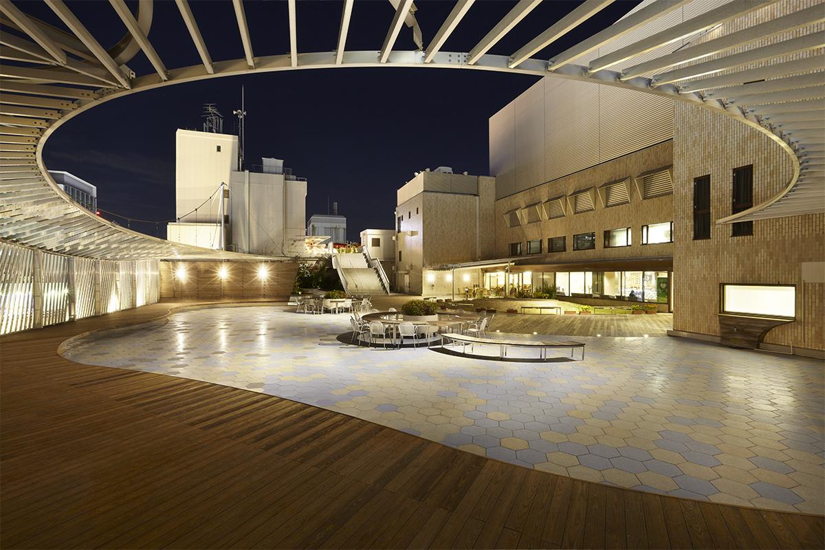 SORALA, Fukuya rooftop garden